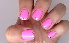 glitter french tip nail art tutorial more com
