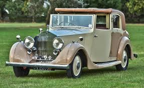 rolls royce classic 1936 rolls royce 25 30 sedanca vintage u0026 prestige vintage
