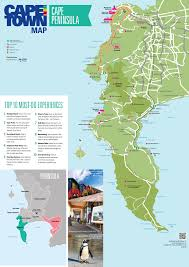 Personal World Map by Cape Peninsula Map Cape Town