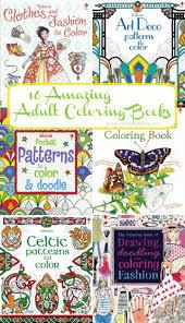 16 incredible coloring books