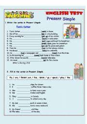 english exercises present simple