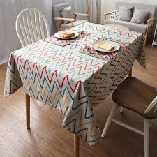 outdoor dining table cover contemporary unique table cloth for dining table geometric insertion