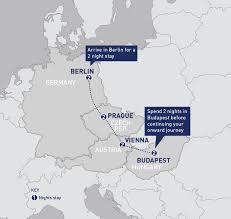 Metro Viena Map by Berlin Prague Vienna And Budapest Railbookers