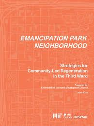 emancipation park neighborhood strategies for community led