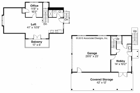 craftsman house plans garage w living 20 080 associated designs garage plan 20 080 floor plan