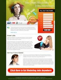 free government grant money small lead capture landing page