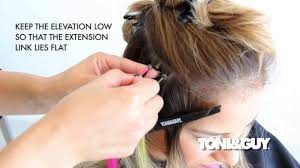 Color Hair Extension by How To Apply Hair Extensions Hair Color Placement Technique