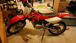 honda xr100 dirtbike motorcycles for sale