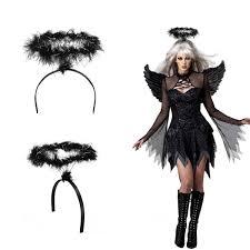 feather wings fallen fancy dress
