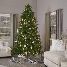 time pre lit 7 5 kennedy fir artificial tree