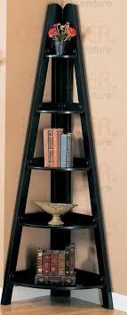 Black Corner Bookcase Bookshelf Corner Black Gloss Shelf With Black Corner Bookcase
