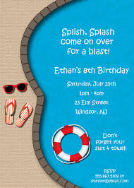 pool party invitations party invitations mesmerizing pool party invite high definition