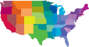 map usa color map of the usa coloring pages hellokidscom the stylish as well as