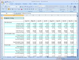 Corporate Budget Template Excel 6 Business Budget Template Excel Outline Templates