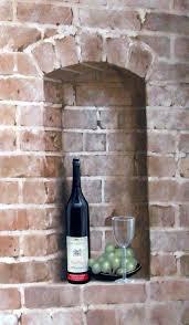 trompe l u0027oeil bricks bottle and wine cellars