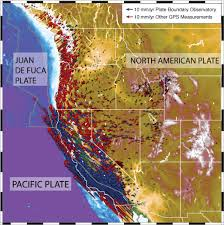 North American Time Zones Map by Earthquake Processes And Effects