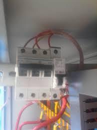 3 phase breaker wiring 3 pole mcb circuit breaker wirng