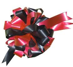 big ribbon 2 colour big bow for new cars and special gift wrapping bespoke