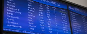 Charlotte Airport Gate Map Terminal Map Directory Gsp International Airport