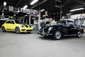 volkswagen old beetle modified 2014 volkswagen beetle gsr vs 1964 porsche 356sc
