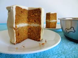 peanut butter carrot cake for dogs