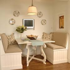 wood kitchen nook table set trendy dining room kitchen nook set
