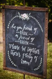 chalkboard wedding sayings the best 20 wedding aisle signs