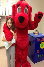 Clifford Big Red Dog Halloween Costume Laytonsville Es Slideshow