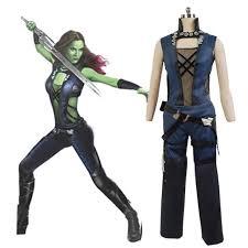 gamora costume guardians of the galaxy gamora vest costume for