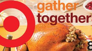 target thanksgiving dinner scenario for 50
