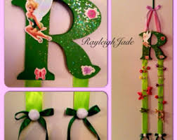 tinkerbell ribbon minnie mouse bow holder