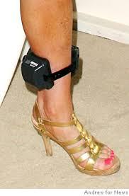 ankle bracelet with images Why lindsay could drink despite ankle bracelet ny daily news jpg