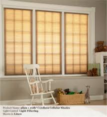 light filtering or blackout cordless cellular custom shades