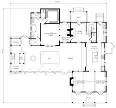 southern living floor plans port royal coastal cottage allison ramsey architects inc
