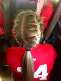 Cute Sporty Hairstyles Cute Easy Volleyball Hairstyle Diy Pinterest Volleyball