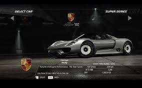 Porsche 918 Back - video games cars vehicles porsche 918 porsche 918 spyder need for