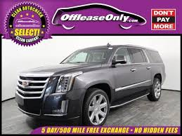 cadillac escalade 2017 grey grey cadillac escalade in florida for sale used cars on buysellsearch