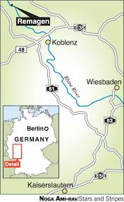 Kaiserslautern Germany Map by In Wwii The Bridge At Remagen Allowed U S Troops To Cross The