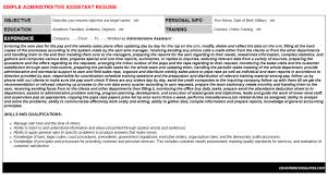 funeral home administrative assistant resumes u0026 cover letters