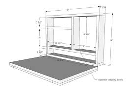 diy folding train table flip down wall art desk i want a bigger one for train table or
