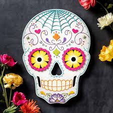 Sugar Skull Craft DIY Halloween Decor Apostrophe S