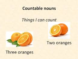 and uncountable nouns presentation