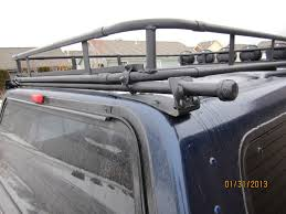 2014 Nissan Frontier Roof Rack by Roof Rack On Topper Page 2 Expedition Portal