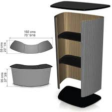Counter Reception Desk Portable Reception Desk Quattro Counter