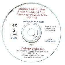 1704 1776 boston newsletter advertisement index