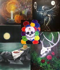 the spirit of halloween come and paint the spirit of halloween no matter how you see it