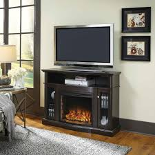 Electric Media Fireplace Pleasant Hearth Elliott 47 In Media Electric Fireplace In Merlot