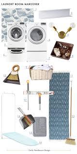 laundry closet makeover emily henderson