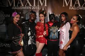 halloween party title here u0027s what happened at the 2015 maxim halloween party maxim