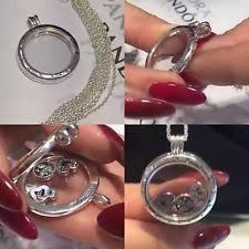pandora locket necklace large images Locket pandora fine necklaces pendants ebay jpg